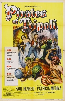 Pirates of Tripoli movie poster (1955) poster MOV_86206b15