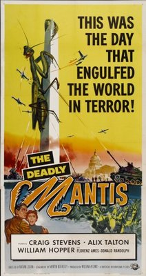 The Deadly Mantis movie poster (1957) poster MOV_8623e852