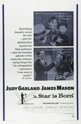 A Star Is Born movie poster (1954) poster MOV_86315f29