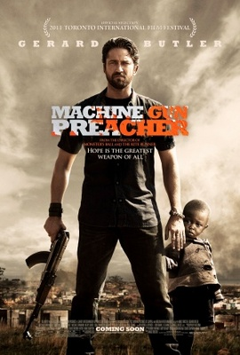 Machine Gun Preacher movie poster (2011) poster MOV_8644c614