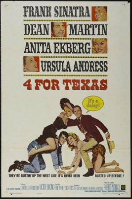 4 for Texas movie poster (1963) poster MOV_866feabf