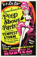 The French Peep Show movie poster (1954) picture MOV_868e7817