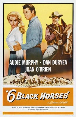 Six Black Horses movie poster (1962) poster MOV_869b516c
