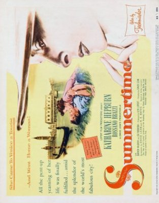 Summertime movie poster (1955) poster MOV_869f88f1