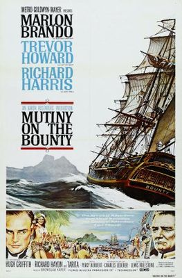 Mutiny on the Bounty movie poster (1962) poster MOV_86a1cb7f