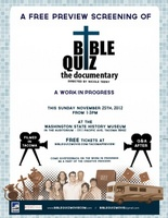 Bible Quiz movie poster (2013) picture MOV_86a712a7