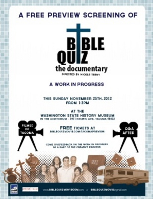 Bible Quiz movie poster (2013) poster MOV_86a712a7