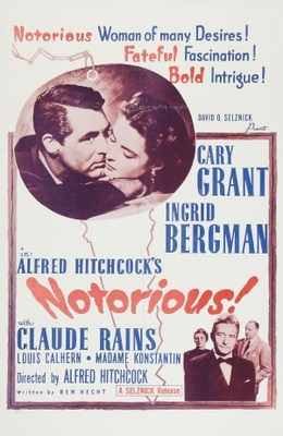 Notorious movie poster (1946) poster MOV_86aaacae