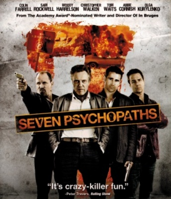 Seven Psychopaths movie poster (2012) poster MOV_86bac38e