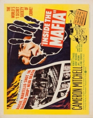 Inside the Mafia movie poster (1959) poster MOV_86cf188c
