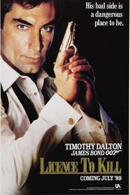 Licence To Kill movie poster (1989) poster MOV_86dfa8e7