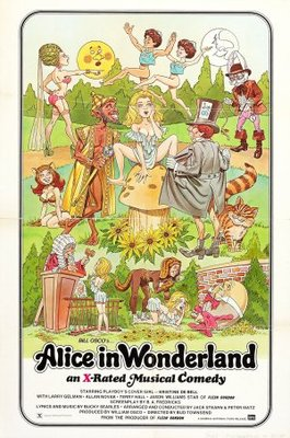 Alice in Wonderland movie poster (1976) poster MOV_86fd971d