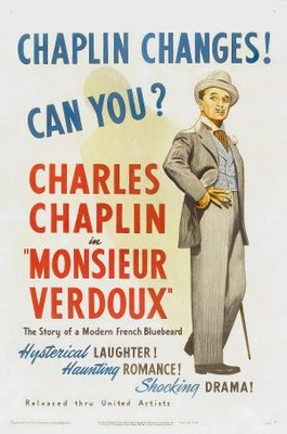 Monsieur Verdoux movie poster (1947) poster MOV_870cbe9b