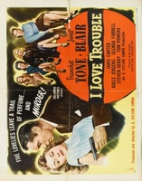 I Love Trouble movie poster (1948) picture MOV_87177f16