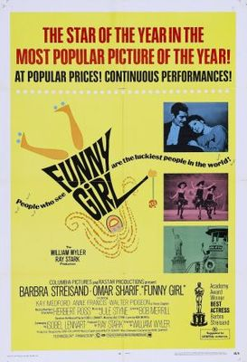 Funny Girl movie poster (1968) poster MOV_871f767b