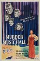 Murder in the Music Hall movie poster (1946) picture MOV_872cd2bd