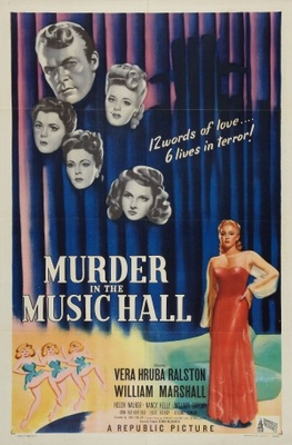 Murder in the Music Hall movie poster (1946) poster MOV_872cd2bd