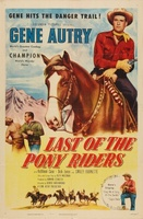 Last of the Pony Riders movie poster (1953) picture MOV_8735ebd7