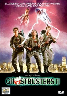 Ghostbusters II movie poster (1989) poster MOV_874398be