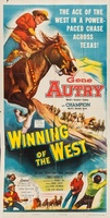 Winning of the West movie poster (1953) picture MOV_874d81b1