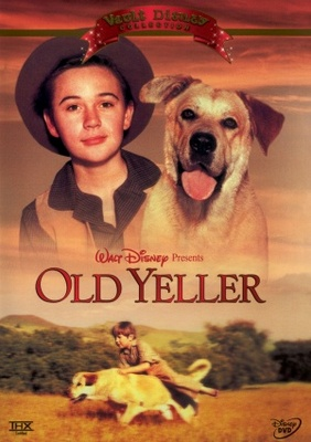 Old Yeller movie poster (1957) poster MOV_87526659