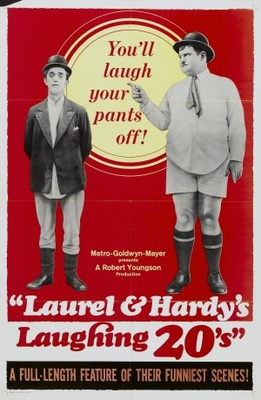 Laurel and Hardy's Laughing 20's movie poster (1965) poster MOV_875e03f8
