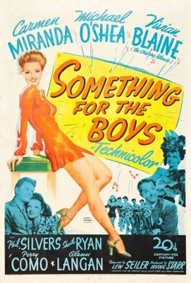 Something for the Boys movie poster (1944) poster MOV_876a213c