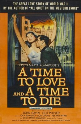 A Time to Love and a Time to Die movie poster (1958) poster MOV_878840aa