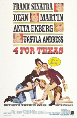 4 for Texas movie poster (1963) poster MOV_8790611f