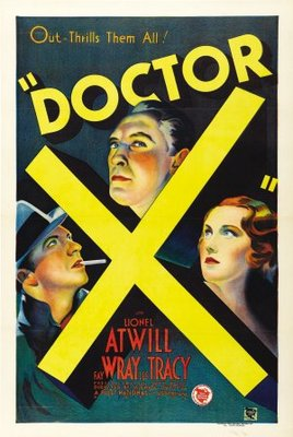 Doctor X movie poster (1932) poster MOV_879bd1b5