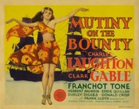 Mutiny on the Bounty movie poster (1935) picture MOV_879dc9d0