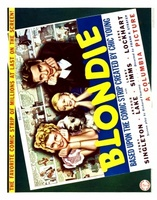 Blondie movie poster (1938) picture MOV_87a72cab