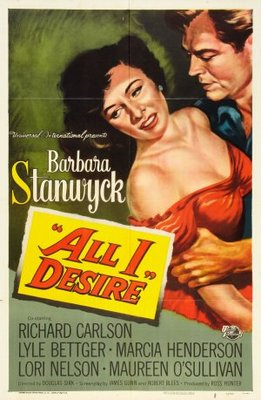 All I Desire movie poster (1953) poster MOV_87a7ff49