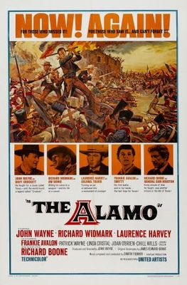 The Alamo movie poster (1960) poster MOV_87afb79b