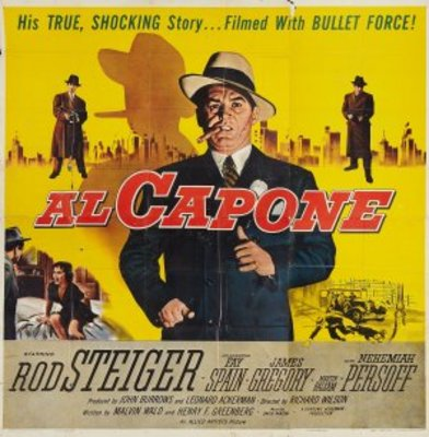 Al Capone movie poster (1959) poster MOV_87b4677f