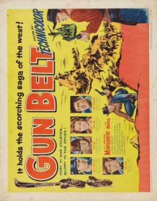 Gun Belt movie poster (1953) poster MOV_87b7f37d