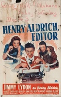 Henry Aldrich, Editor movie poster (1942) picture MOV_87bf222d