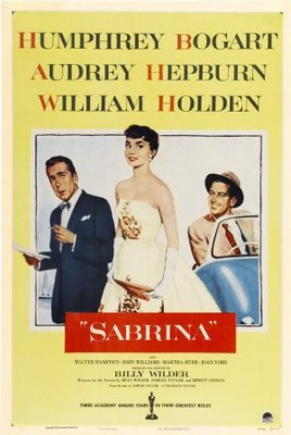 Sabrina movie poster (1954) poster MOV_87d8d0ea