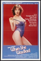 When She Was Bad movie poster (1985) picture MOV_87dee5fc