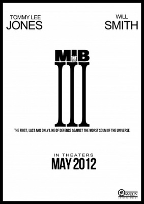 Men in Black III movie poster (2012) poster MOV_87e038ce