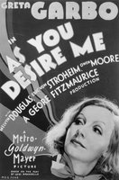 As You Desire Me movie poster (1932) picture MOV_87eabf79