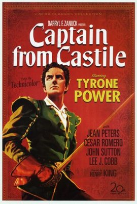 Captain from Castile movie poster (1947) poster MOV_87f70127