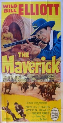 The Maverick movie poster (1952) poster MOV_880cf20f