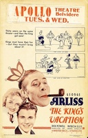 The King's Vacation movie poster (1933) picture MOV_880fd76b