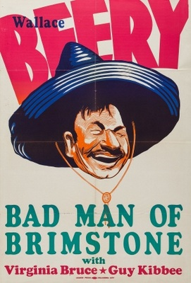 The Bad Man of Brimstone movie poster (1937) poster MOV_882158ae
