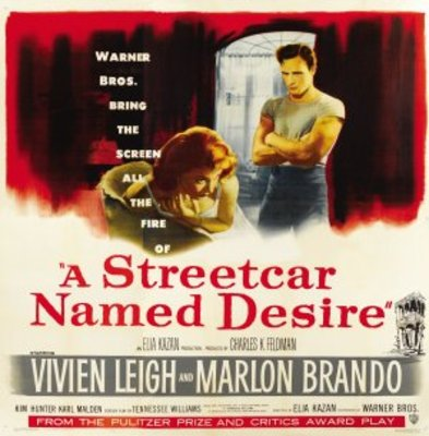 A Streetcar Named Desire movie poster (1951) poster MOV_882d39ca