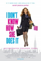 I Don't Know How She Does It movie poster (2011) picture MOV_884bdb74