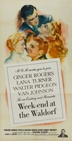 Week-End at the Waldorf movie poster (1945) picture MOV_8862f3a0