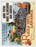 Rails Into Laramie movie poster (1954) picture MOV_8870ef07