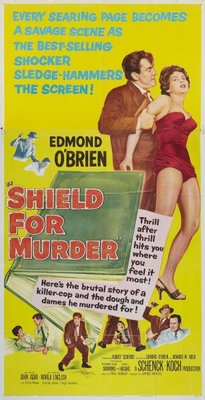 Shield for Murder movie poster (1954) poster MOV_88811ba6